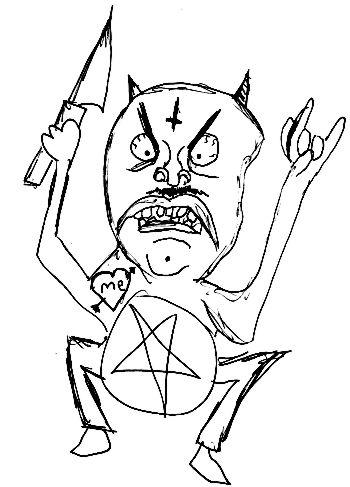 demon of satanness